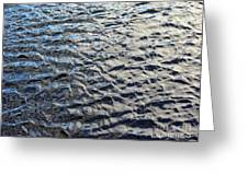 Ripples On Big Water Greeting Card
