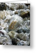 Rippling Water Greeting Card