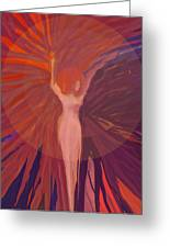 Rising From The Ashes Greeting Card