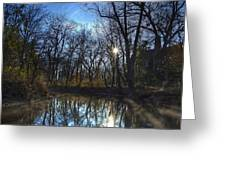 Rising On The River Greeting Card