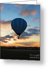 Rising With The Sun. Oshkosh 2012. Greeting Card