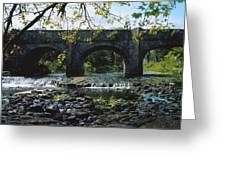 River Annalee, Ballyhaise, Co Cavan Greeting Card