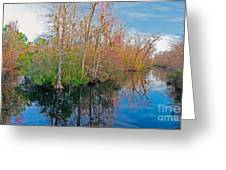 River Bend Greeting Card