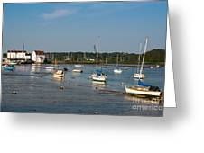 River Deben Estuary Greeting Card