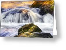 River Flows 03 Greeting Card