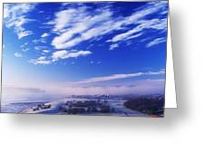 River Foyle, Co Derry, Northern Ireland Greeting Card