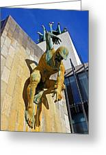 River God Tyne Sculpture IIi Greeting Card
