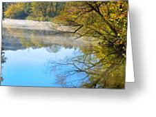 River Mist Greeting Card