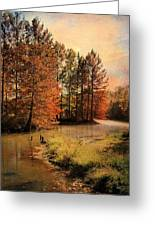 River Of Hope Greeting Card by Jai Johnson