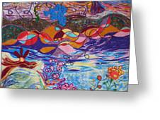 River Of Life Greeting Card by Heather Hennick