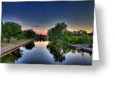 River Or Harbour Greeting Card
