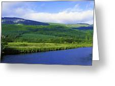 River Roe, Binevenagh, Co Derry Greeting Card