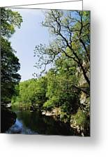 River Roe, Roe Valley, Limavady, Co Greeting Card