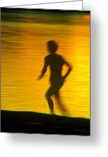 River Runner 1 Greeting Card