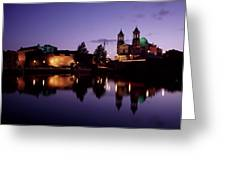 River Shannon, Athlone, County Greeting Card