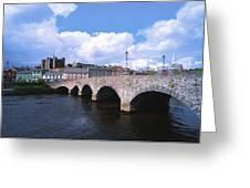 River Slaney, Enniscorthy, Co Wexford Greeting Card