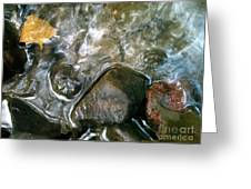 River Swirls Greeting Card