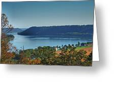 River View IIi Greeting Card by Steven Ainsworth