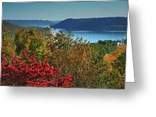 River View V Greeting Card