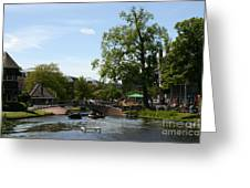 Riverside Afternoon Greeting Card