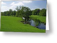 Riverside Meadows - Ashford-in-the-water Greeting Card