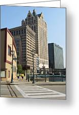 Riverwalk Crossing Greeting Card