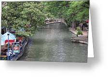 Riverwalk San Antonio Greeting Card
