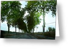 Road France Greeting Card
