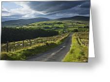 Road Through Glenelly Valley, County Greeting Card