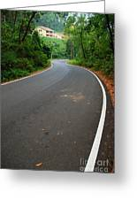 Road To Destiny Greeting Card