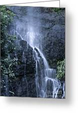 Road To Hana Waterfall Greeting Card