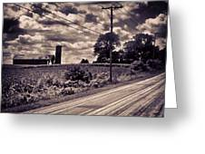 Road To Nowhere 2 Greeting Card