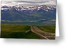 Road To The Sangre De Cristos Greeting Card