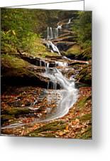 Roaring Fork Falls Greeting Card