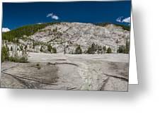 Roaring Mountain Panorama Greeting Card