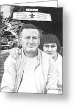 Robert And Theresa Lewis Greeting Card
