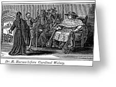 Robert Barnes (1495-1540) Greeting Card by Granger