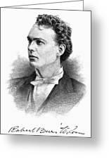 Robert Burns Wilson Greeting Card