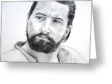 Robert De Niro In The Mission Greeting Card