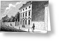 Robert Morris House Greeting Card