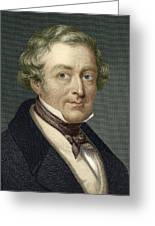 Robert Peel, British Prime Minister Greeting Card by Sheila Terry