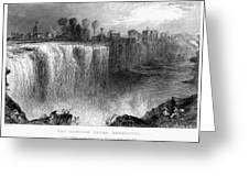 Rochester: Genesee Falls Greeting Card