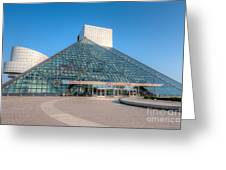 Rock And Roll Hall Of Fame II Greeting Card