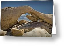 Rock Arch Near Joshua Tree No 0294 Greeting Card