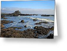 Rock Beach Greeting Card