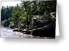 Rock Bluffs On The St Croix Greeting Card