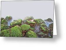 Rock Bottom Greeting Card