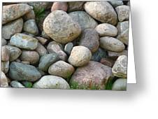 Rock Collection Greeting Card