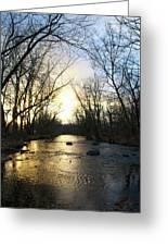 Rock Creek Near Gettysburg Greeting Card