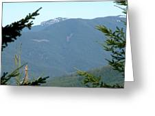 Rock Formation On The Ridge Greeting Card